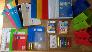 Material für das neue Schuljahr