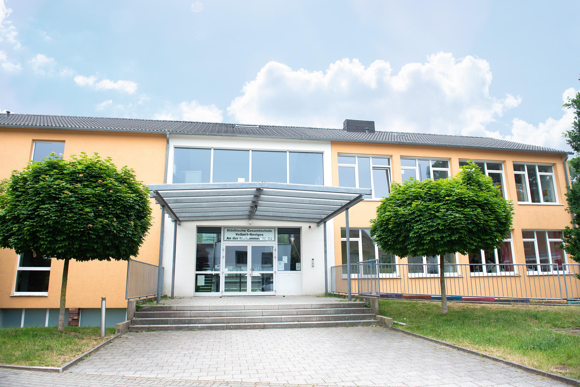 Anmeldungen an der Gesamtschule Velbert-Neviges