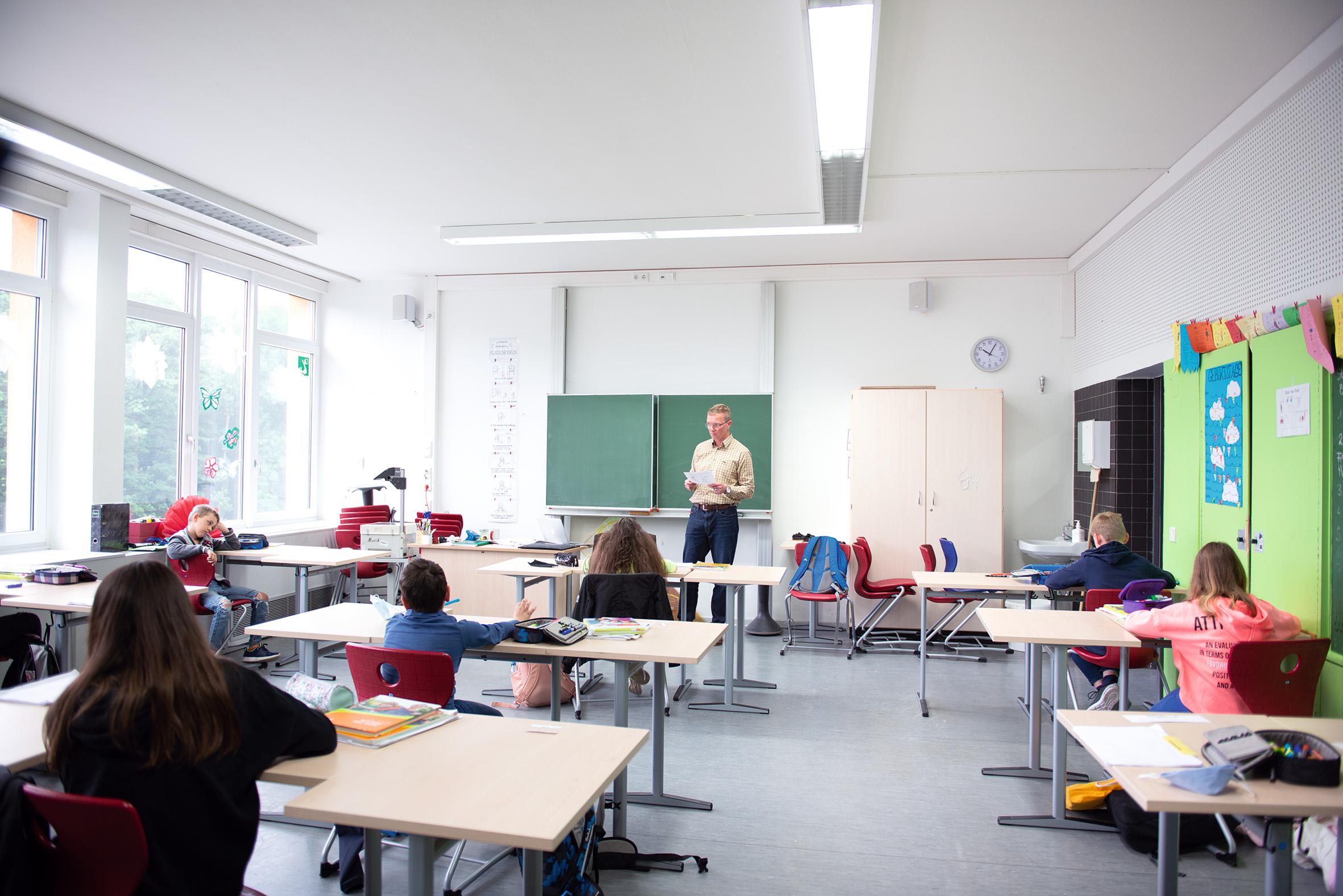 GS Neviges Klassenzimmer