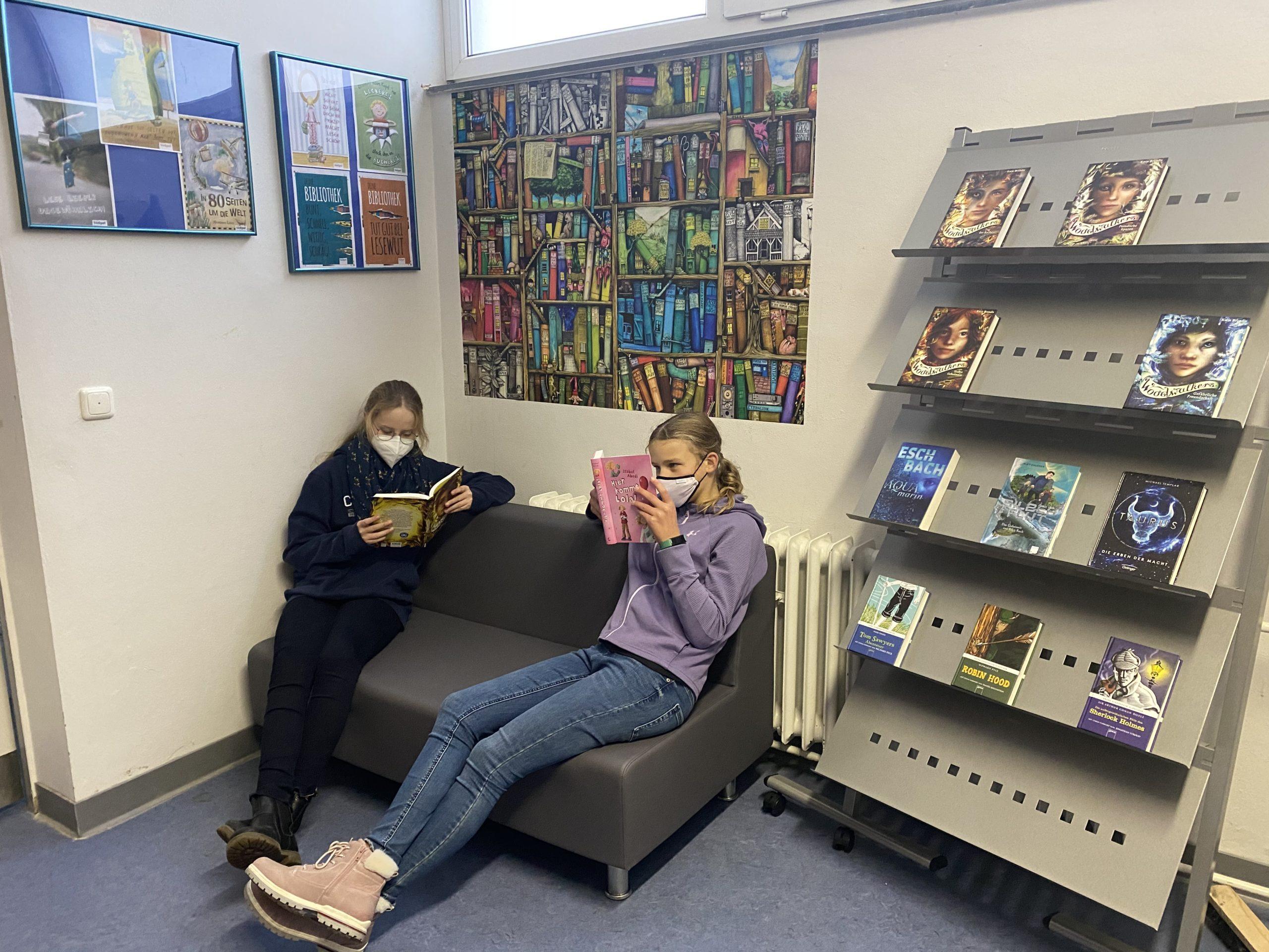 Eröffnung der  Schülerbücherei