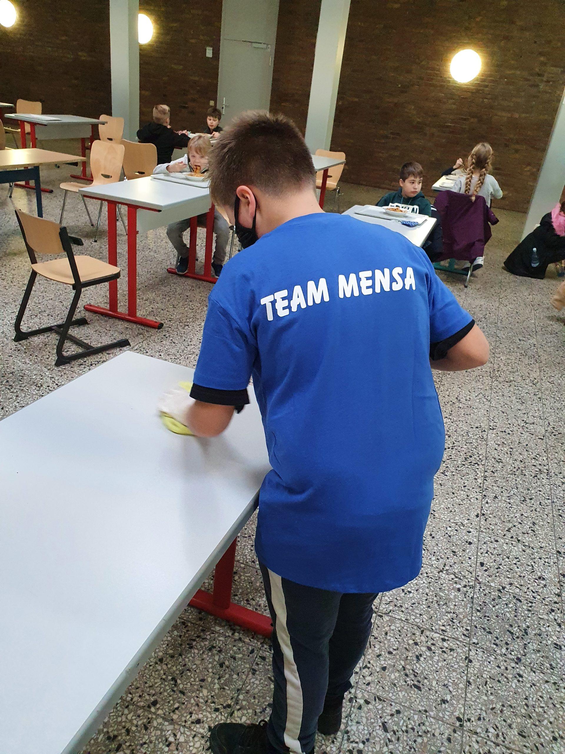 Das Team Mensa