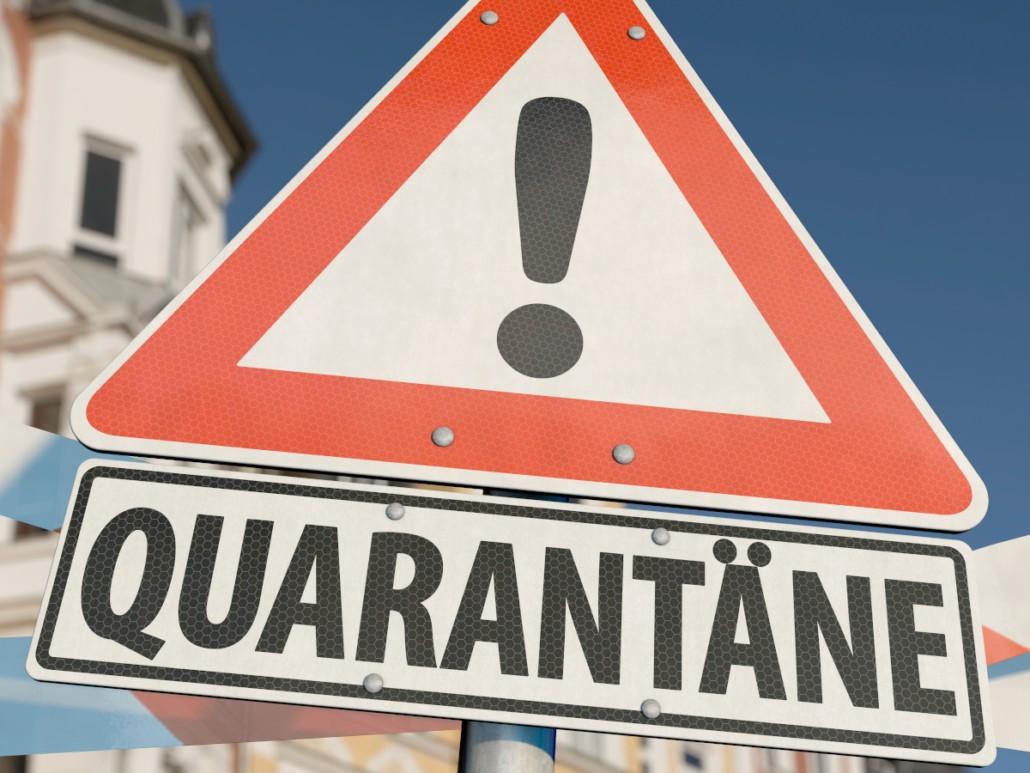 Quarantäne-Regeln